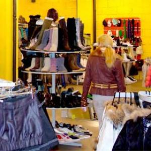 Магазины одежды и обуви Суздаля